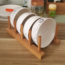 Best Price for for Wooden Display Shelf Mall Household Wooden Bowl Shelf supply to Argentina Factory
