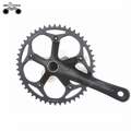 Trade assurance single speed Fixed Gear bike Cycle Aluminum Crankset Cranks