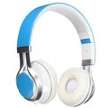 Foldable Stereo Headset Wired Earphones Process Headphones