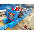 Glazed Steel Roof Ridge Cap Tile Machine