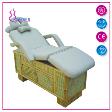 Cheap price for Electric Adjustable Bed Multifunctional Spa Furniture Wooden Electric Facial Bed export to France Factories
