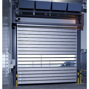 The features of Aluminum hard fast roll door
