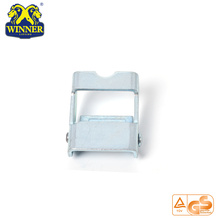 High Quality for Metal Ratchet Buckle 800KG Zinc Alloy Webbing Strap Cam Buckle export to Togo Importers