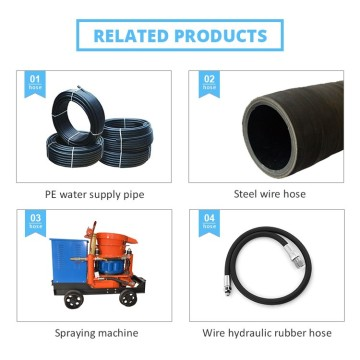 Supply for Rubber Hydraulic Hose hydraulic brake hose epdm rubber hydraulic hose tube export to India Factories