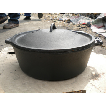 Cast iron Potjie Pot