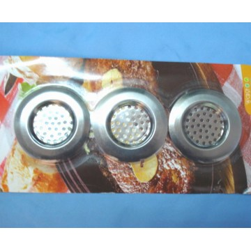 Set of 3 pcs Stainless Steel Sink Strainer