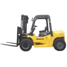China for 5 Ton Diesel Forklift 5 Ton Fork Lifts with Japan ISUZU Engine supply to Turkmenistan Supplier
