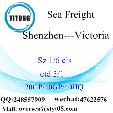 Shenzhen Port Sea Freight Shipping To Victoria
