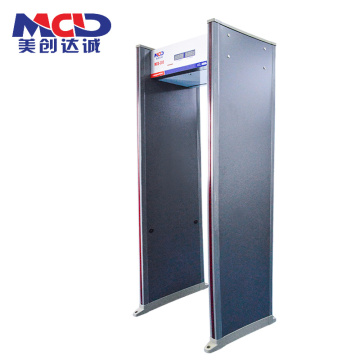 Profesional High Quality 33 Zon Walk Through Gater dengan Muti-Zone Alarm MCD600