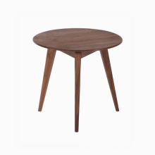 Best Quality for Walnut Wooden Writing Desks FAS Walnut Wooden ROUND SQUARE Coffee Table supply to Guinea-Bissau Manufacturers