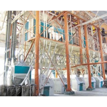 60 - 150t large complete flour mill