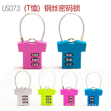 China for Zinc Luggage Padlock Wholesale Price Zinc Alloy Safety Combination Padlock supply to Netherlands Antilles Suppliers