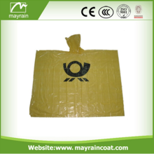 Disposable Adults Rain Poncho for Promotion