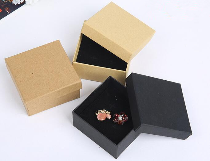 Dyed Paper Jewelry Gift Box