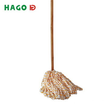 Wet Deck Cotton Mop mit Massivholzgriff