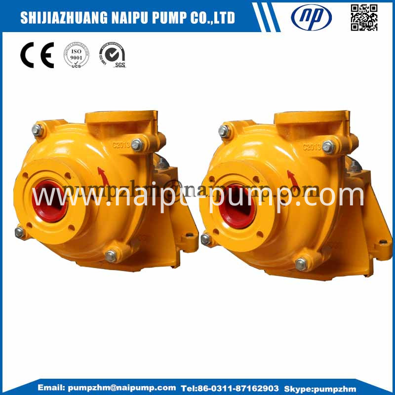 040 AH metal liner slurry pump