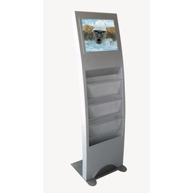 17 Inch  Advertising Digital Signage Display Stands