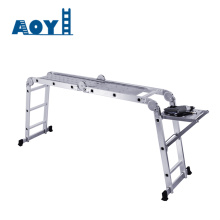 10 Years manufacturer for Aluminum Multipurpose Ladder Multi-function folding ladder thickened aluminum profiles export to Trinidad and Tobago Factories