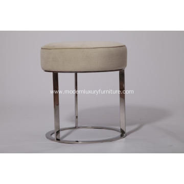 Frank stool in solid stainless steel