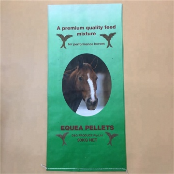 Gusseted BOPP Horse Pellet Bag