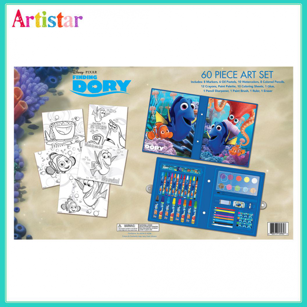 Disney Pixar Finding Dory 60 Pieces Art Set 2