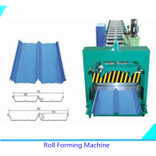 China supplier OEM for Plc Standing Seam Roll Forming Machine Standing Seam Roll Forming Machine supply to United States Supplier