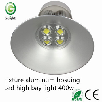 Fixture aluminum hosuingled high bay light 400w