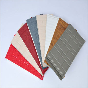 Polyurethane wood Insulated Decorative Metal Siding