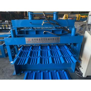 Trapezoidal glazed roof forming machine with good service