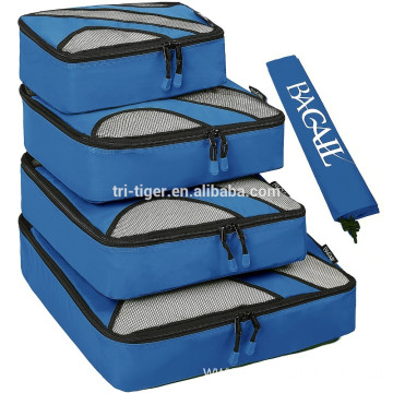 4pcs waterproof packing cube for travel