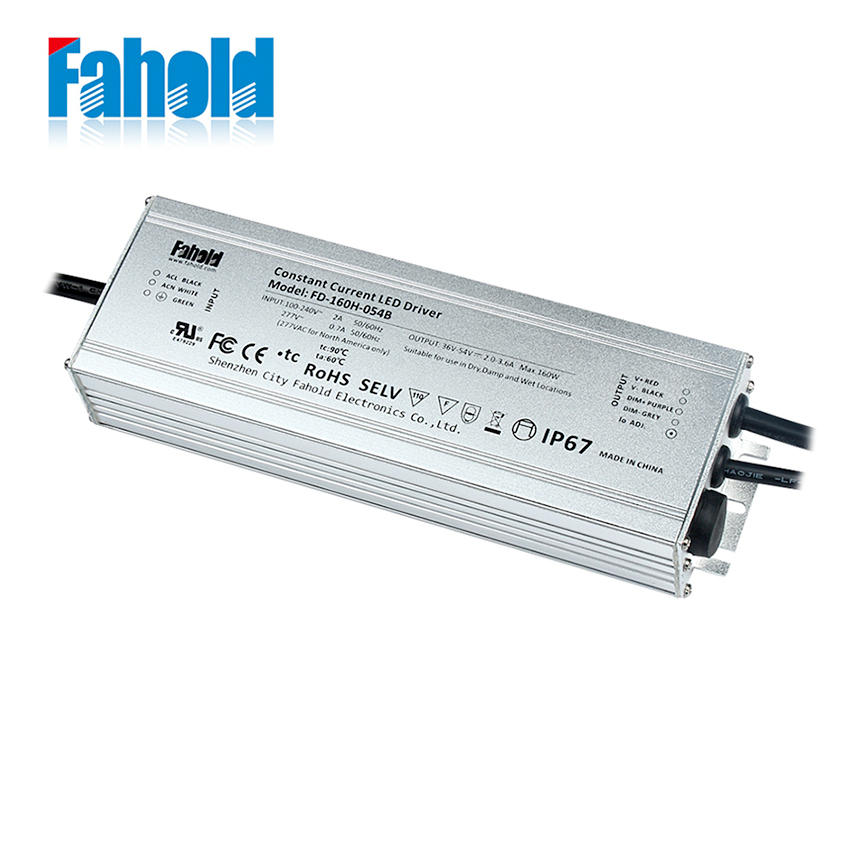 160W Dimmable LED Driver