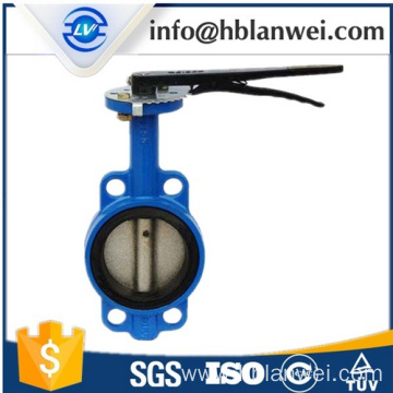 Personlized Products for Supply Wafer Center Butterfly Valve,Concentric Butterfly Valve,Cast Iron Butterfly Valve to Your Requirements grey iron butterfly valves supply to Russian Federation Factories