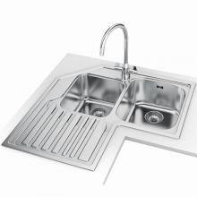 Kitchen and commercial Stainless steel dishwasher sinks