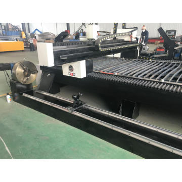 CNC plasma plate and pipe metal cutter