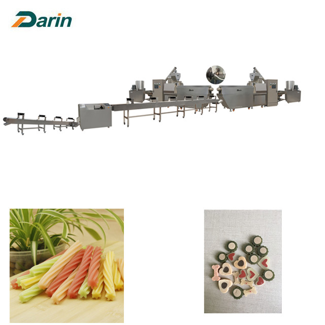 Pet Food Dog treat  Extruding Machine