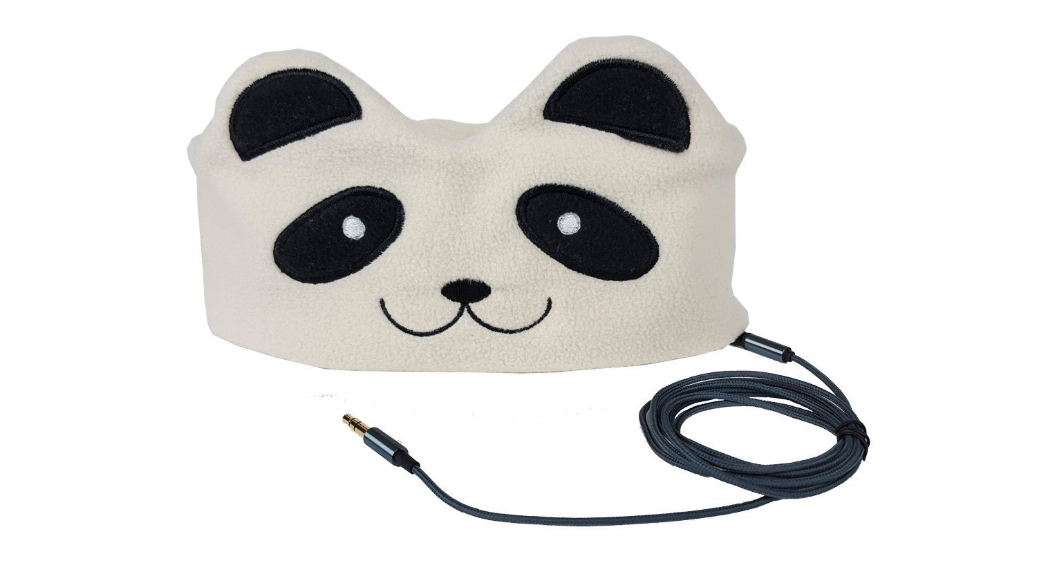 Cute sleeping children loved hat headphones
