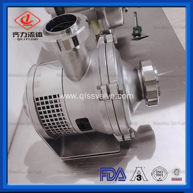 Used in Food, Chemical, Pharmaceutical Sanitary Liquid-Ring Pump
