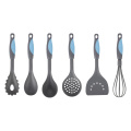 6PCS Rubber Handle Nylon Low Price Cookware