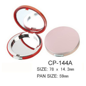 Round Cosmetic Compact CP-144A