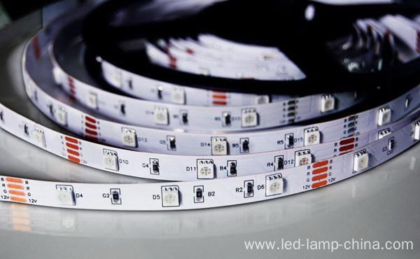 High Lumens Addressable White RGBW SMD5050 LED Strip Light
