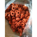 Red Silicone Rubber Shoulder Bushings