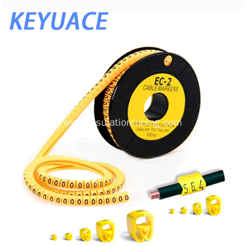 EC-1 Electric PVC High quality plastic cable markers