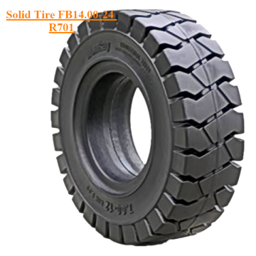 Solid Skid Steer Tire FB14.00-24 R701 No Holes
