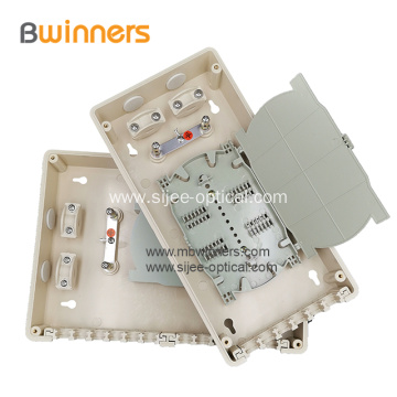 24 Cores Wall Mount Plastic Fiber Optic Splice Box