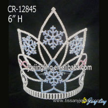 Fast Delivery for Christmas Crowns Holiday Crown  Christmas Snow shape CR-12845 export to Lesotho Factory