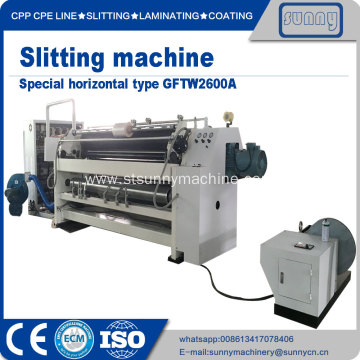 China for Automatic Film Slitting Machine Roll to roll slitting rewinding machinery export to Netherlands Manufacturer