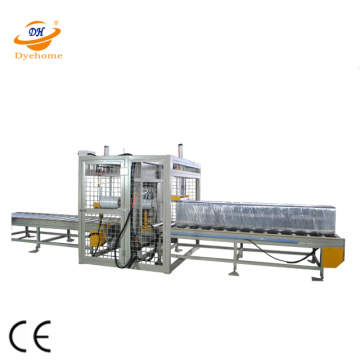 Carton pallet horizontal wrapper machine