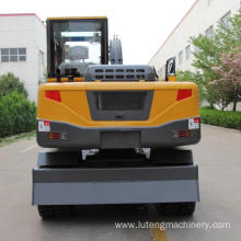 75Parameters of hydraulic wheel excavator