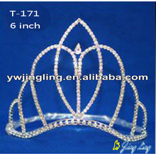 Wave band Pageant Crown Simple Shape
