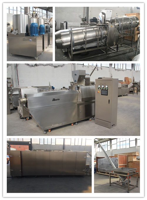 Dog snacks pet food auto making machine